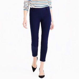 J Crew Minnie navy blue cropped pants